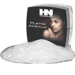 Hollywood Nails Platin French Glamour White Acryl