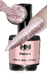 Hollywood Nails Glitter Shine Nature