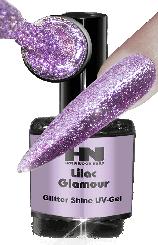 Hollywood Nails Glitter Shine Lilac