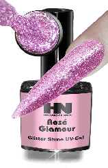 Hollywood Nails Glitter Shine Rosé