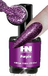 Hollywood Nails Glitter Shine Purple
