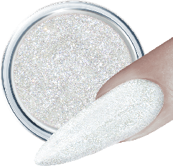 Glitter Gel 164 Crystal White