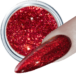 Glitter Gel 210 Red