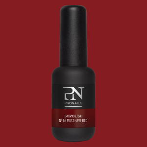 Pronails Sopolish 66 Must Have Red 8 ml