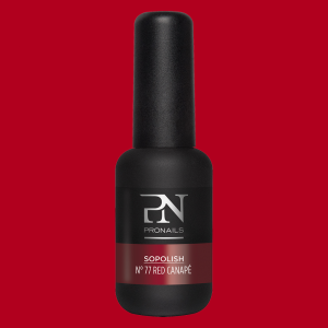 Pronails Sopolish 77 Red Canapé 8 ml