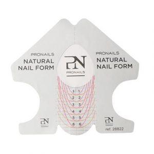 ProNails Sjablonen Natural Nail Froms