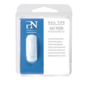 ProNails Tips Navul Half Moon
