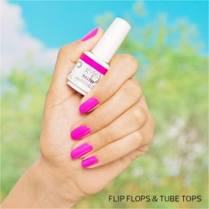 Gelish 9ml Flip Flops & Tube Tops
