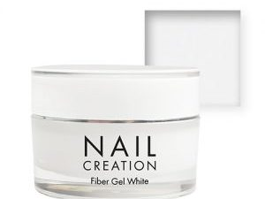 NailCreation Fiber Gel – White