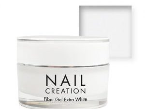 NailCreation Fiber Gel – Extra White