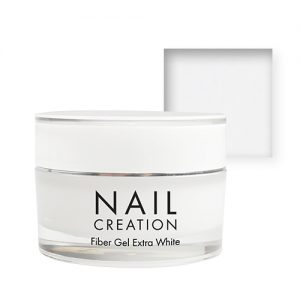 NailCreation Fiber Gel – Extra White