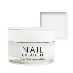 NailCreation Fiber Gel – Extreem White