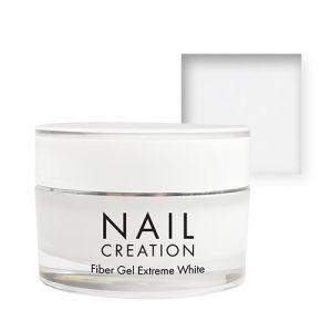NailCreation Fiber Gel – Extreem White