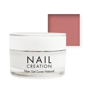 NailCreation Fiber Gel – Cover Natural