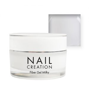 NailCreation Fiber Gel – Milky