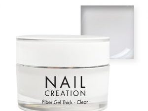 NailCreation Fiber Gel – Thick Clear