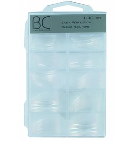 BC Easy Perfection Clear Nail Tips