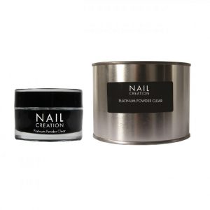 NailCreation Platinum Powder – Clear