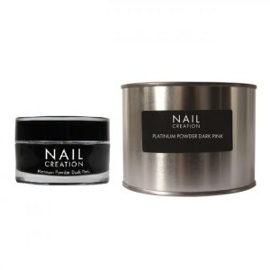 NailCreation Platinum Powder – Dark Pink