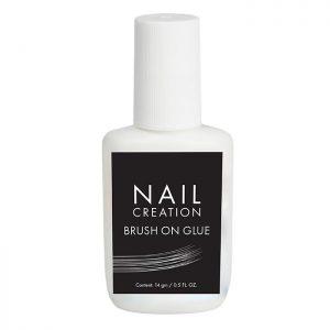 NailCreation brush on glue/ Lijm