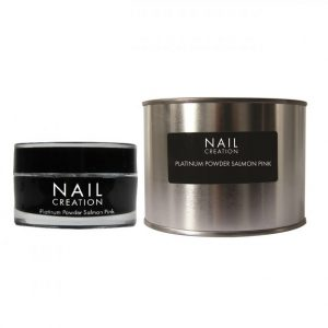NailCreation Platinum Powder – Salmon Pink