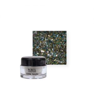 Nail Creation Glitter acryl – Silver
