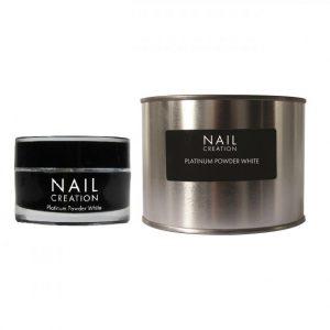 NailCreation Platinum Powder – White