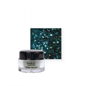 Nail Creation Glitter acryl – Ice Blue