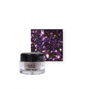 Nail Creation Glitter acryl – Purple