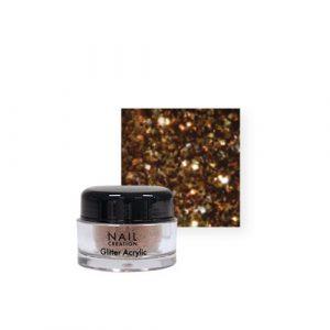 Nail Creation Glitter acryl – Bronze