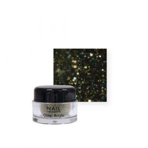 Nail Creation Glitter acryl – Green
