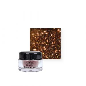 Nail Creation Glitter acryl – Rose Copper