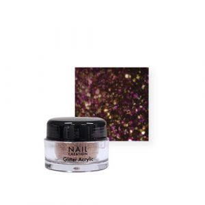 Nail Creation Glitter acryl – Golden Dragon