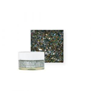 NailCreation Glitter Gel – Silver