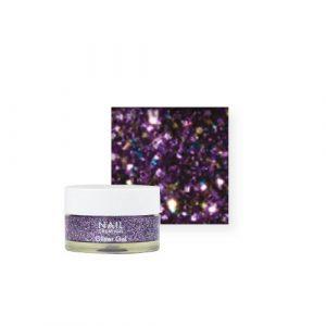 NailCreation Glitter Gel – Purple