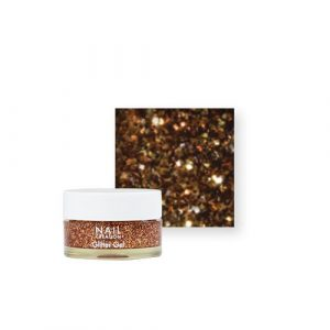 NailCreation Glitter Gel – Bronze