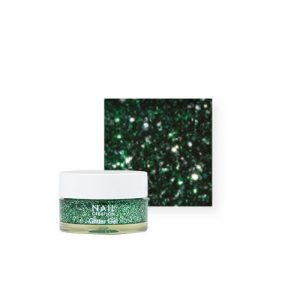 NailCreation Glitter Gel – Green