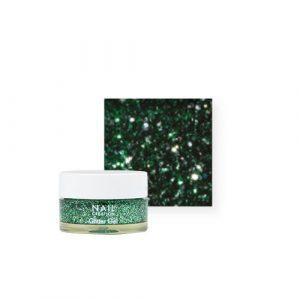 NailCreation Glitter Gel – Green