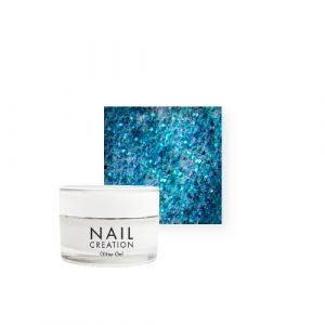 NailCreation Glitter Gel – Shocking Blue