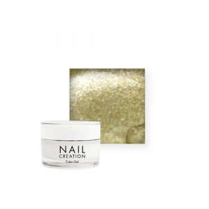 NailCreation Color Gel – Gold Rush