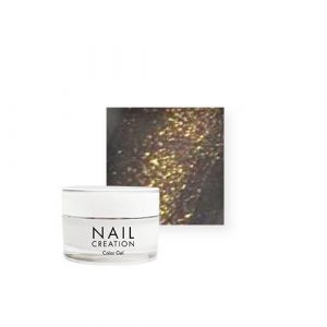 NailCreation Color Gel – Little Golden dress
