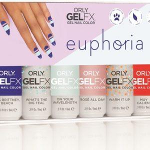 Orly GelFX Euphoria collectie 6x 9ml