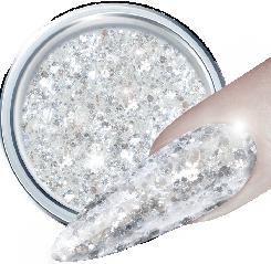 Glitter Gel 3D 345 Crystal