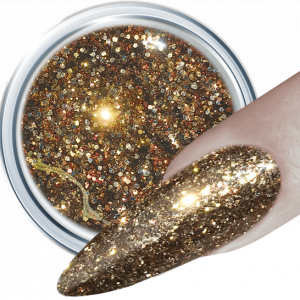 Glitter Gel 369 Tasteful Gold