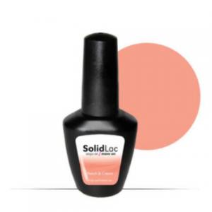 Nail Creation Solid Lac – Peach & Cream 15ml