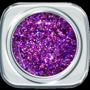 Glitter Gel 373 Vibruat Violet