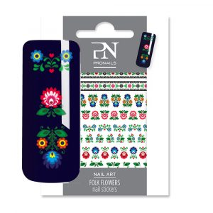 ProNails Nail Stickers Folk Flower