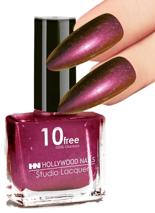 Hollywood Nails Nagellak 55 Burgundy Show 10ml