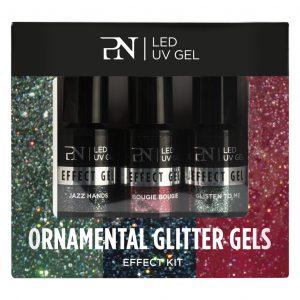 ProNails Ornamental Glitter Gels