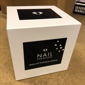 NailCreation Starters pack / Basic Kit Platinum Acryl